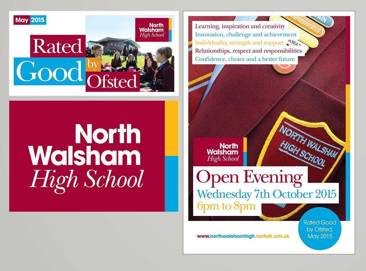 North Walsham High School Branding