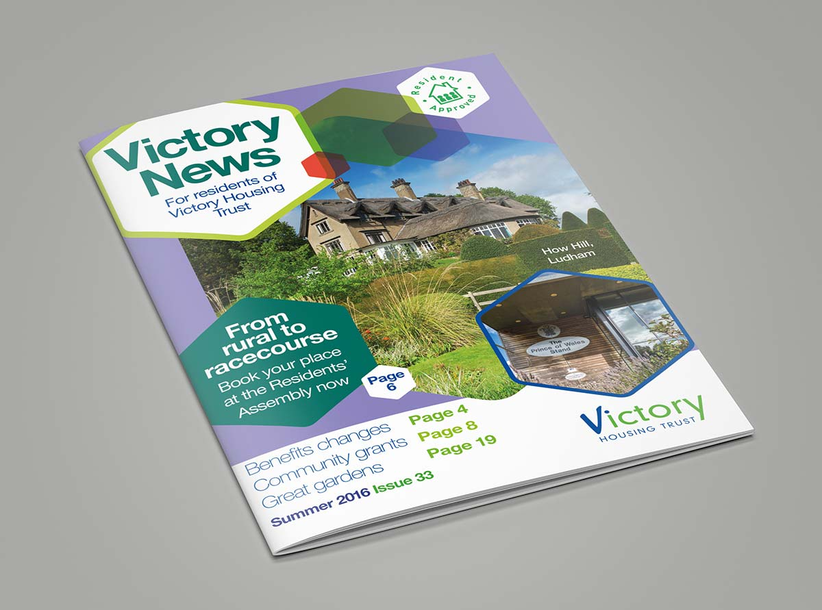 Victory Housing Association Resident Newsletter Magazine