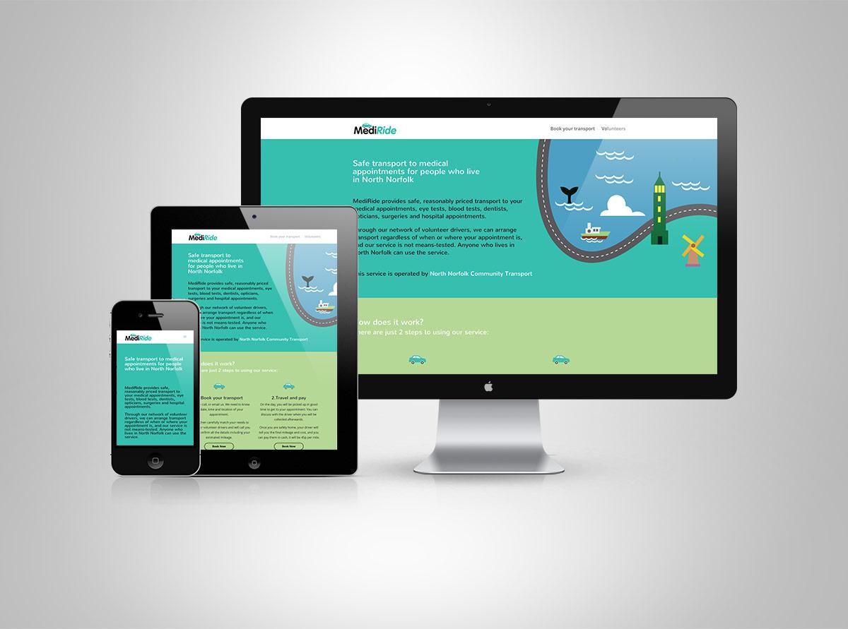 MediRide Website
