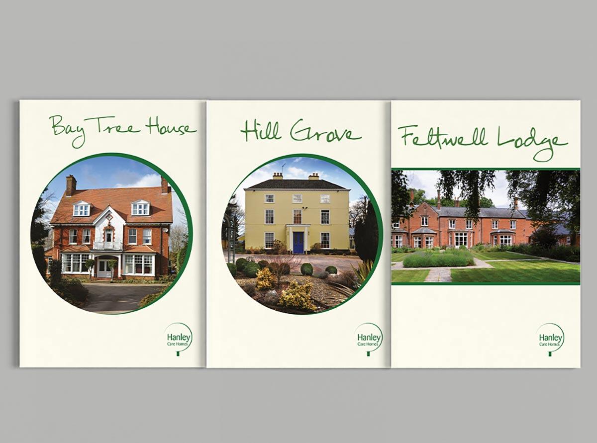 Hanley Care Homes Branding - Brochures