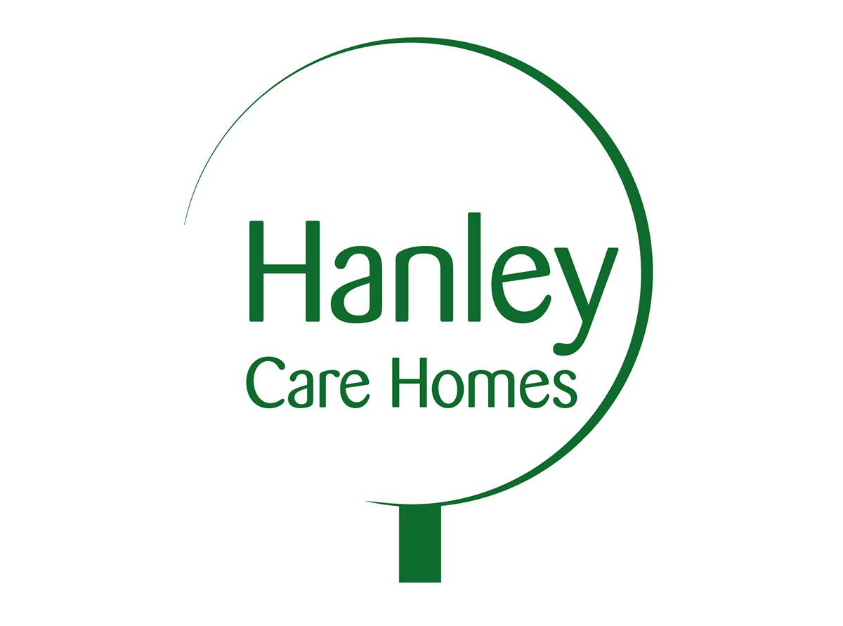 Hanley Care Homes Branding