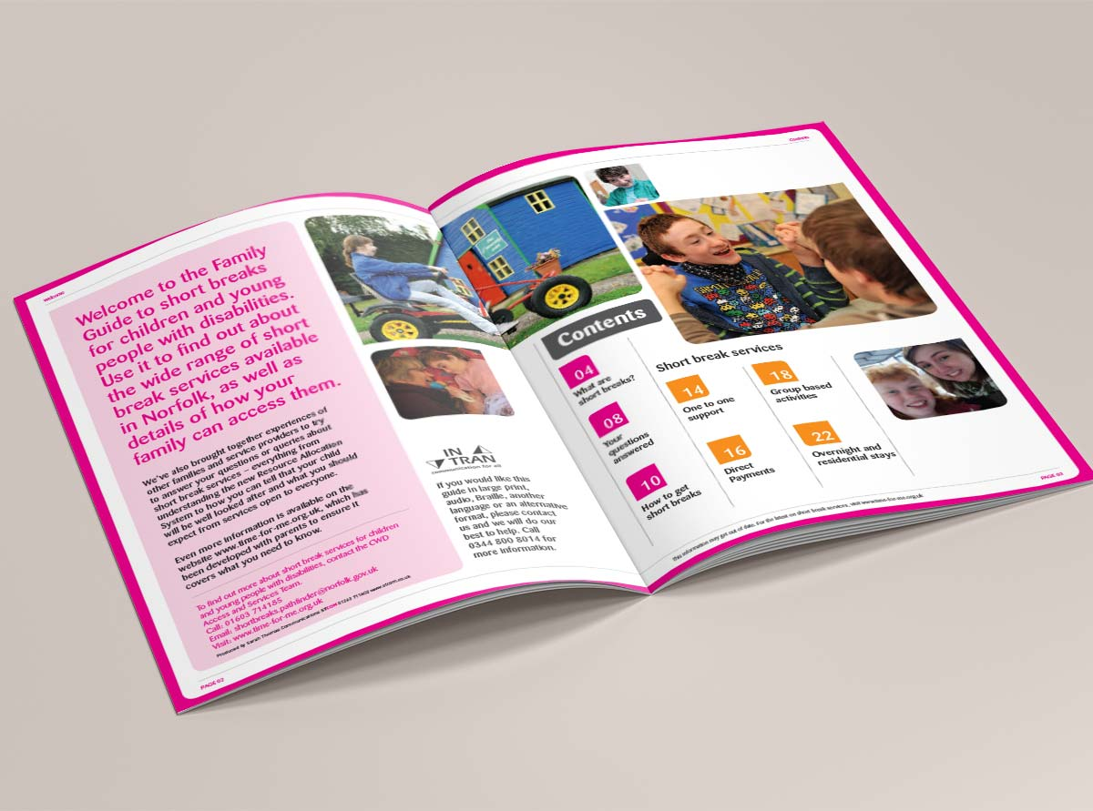 Hanley Care Homes Branding Brochures